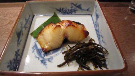 Yakimono ou poisson grillé de saison