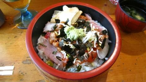 Natto-Sashimi