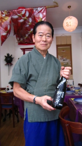 Le chef Hideo