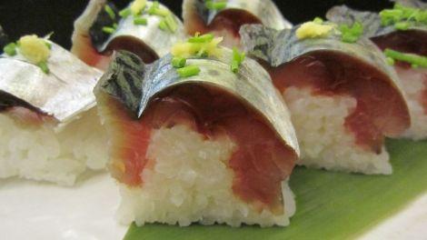 Sushi de maquereaux