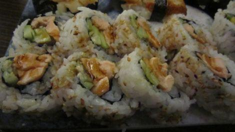 Maki saumon grillé