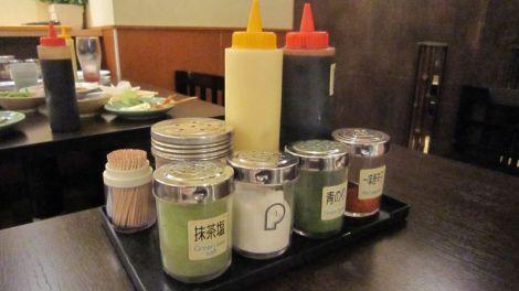 Les différentes sauces
