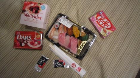 Un repas à Tokyo