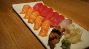Sushi Shake, Maguro, Anago et Unagi