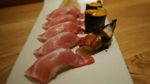 Thon gras, Anguille et Oursin