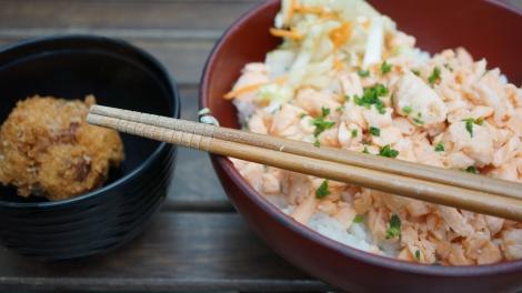 Soboro de saumon