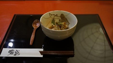 Tofu et champignons